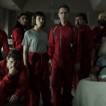 os personagens de la casa de papel