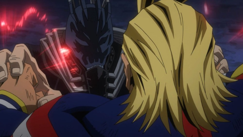 all might vs all for one - momentos marcantes 1