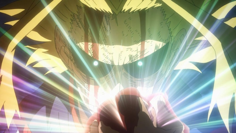 all might vs all for one - momentos marcantes 7