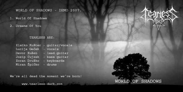 Tearless - World of Shadows