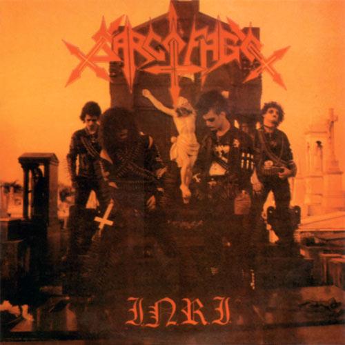 Sarcofago 1987 album cover