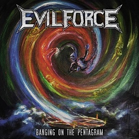 Evil Force - Banging on the Pentagram