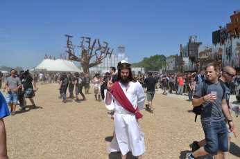 Jésus est métalleux et vivant ! aucun doute !