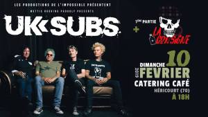 UK SUBS + La Consigne @ Catering-Café-Music