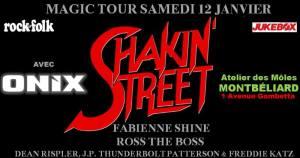 Shakin'Street (Fabienne Shine) + Onix @ l'Atelier des Môles