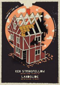 Ken Stringfellow (The Posies) + Landslide @ Les Passagers du Zinc