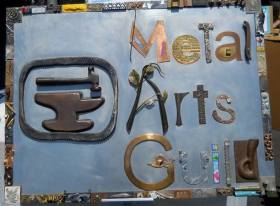 Metal Arts Guild Sign