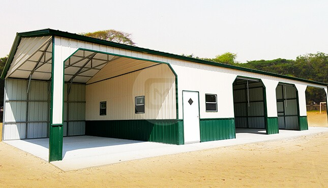 30x70 Custom Metal Building Prefab Custom Metal Structure