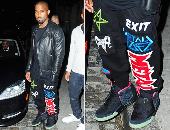 I think we can agree that if a mouthbreathing fuck like Kanye West wears a pentagram there's something deeply wrong.
