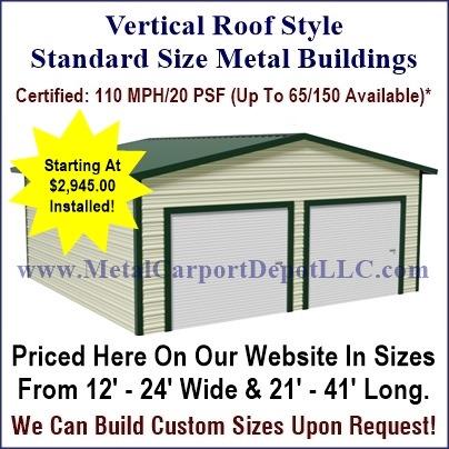 Modelo De La Carrocera Metal Carport Kits Home Depot