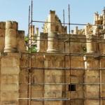 ajloun ancient cave & Ancient Greco Roman Ruins Of Jerash Jordan