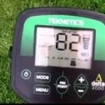 Teknetics Delta 4000 Metal Detector Test Garden Reviews