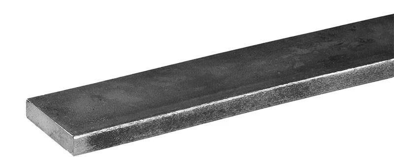 fer plat 12 x 6 mm en acier brut