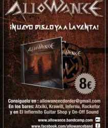 "Allowance nuevo disco a la venta ""Unbreakable"""