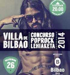 Horarios 26ª edición del Concurso Pop Rock Villa de Bilbao