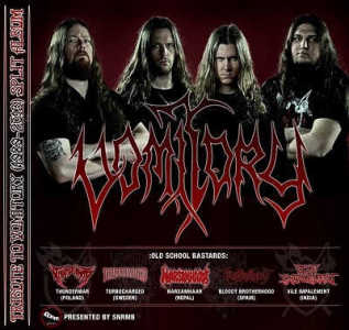 Bloody Brotherhood en un tributo internacional a Vomitory
