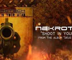 Nekrotech «Shoot In Your Head» adelanto de su nuevo disco