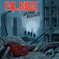 Evil Killer portada y tracklist de «Lethal Assault»