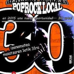 Muestra Metal, Pop-Rock Aste Nagusia plazo abierto