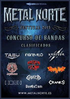 Nuestros finalistas en el concurso Metal Norte