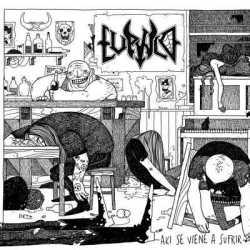 Lúpulo presentan la portada de «Aki Se Viene A Sufrir»