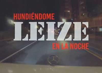 Leize videoclip de Hundiéndome En La Noche