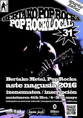 31 Muestra Metal-Pop-Rock Aste Nagusia