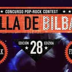 28 Concurso Pop Rock Villa de Bilbao finalistas