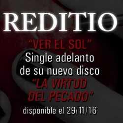 Reditio audiosingle «Ver El Sol»