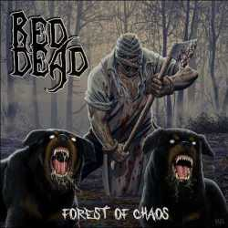Red Dead artwork y tracklist de «Forest Of Chaos»