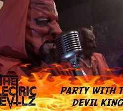 The Hellectric Devilz videoclip de «Party with the Devil King»
