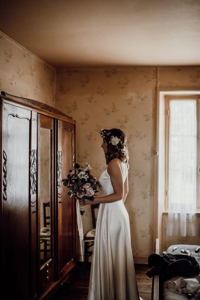 Paris Wedding Dress Bridal Shop Metal Flaque Wedding