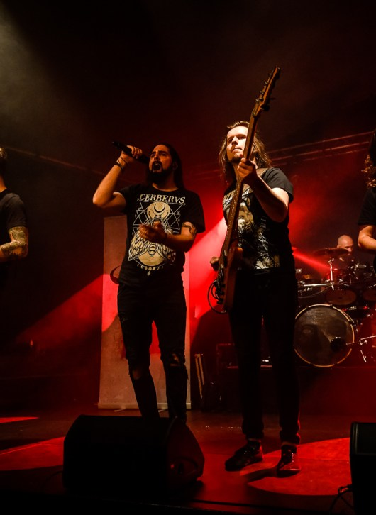 Voic of Ruin plays at the MJC Chamonix in 2018