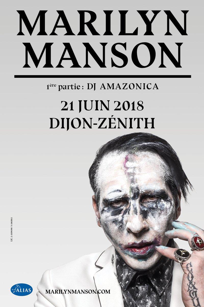 Marilyn Manson Dijon 2018