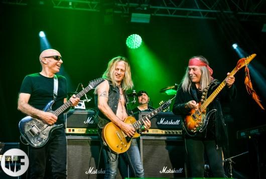 Joe Satriani, Doug Aldrich et Uli Jon Roth à Guitare en Scène 2018
