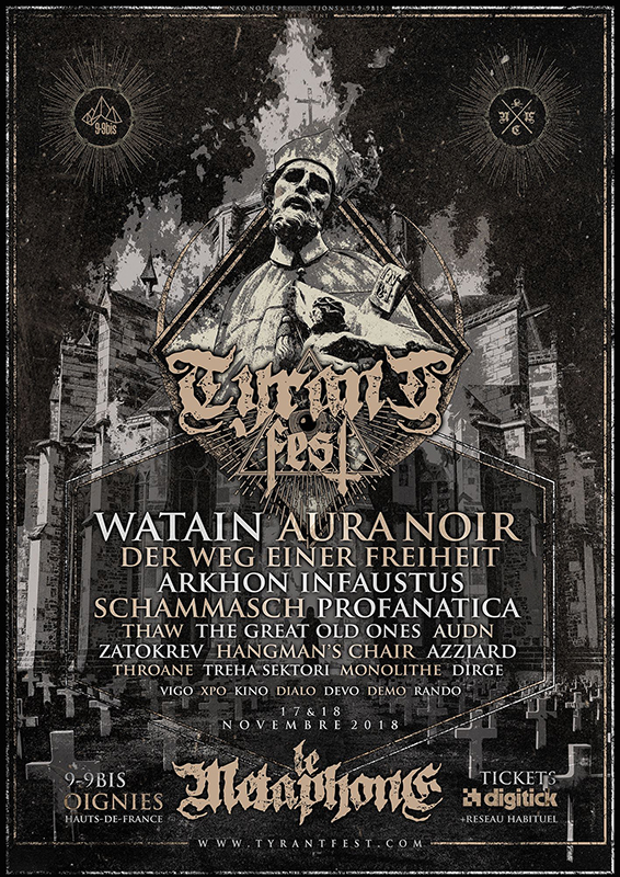 Tyrant Fest 2018
