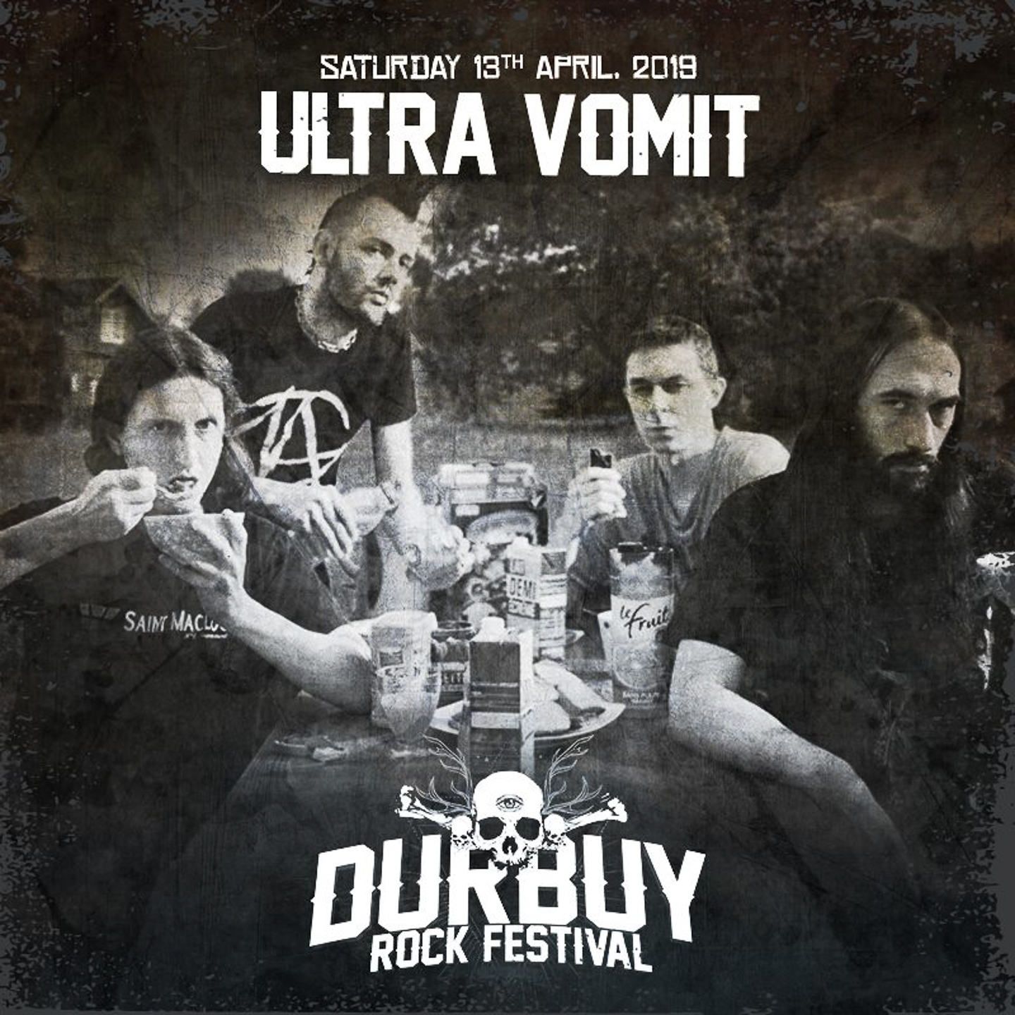 Ultra vomit Durbuy Rock Festival_