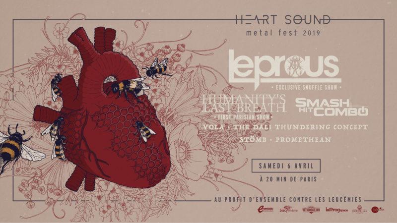 Affiche du Heart Sound Metal Fest 2019