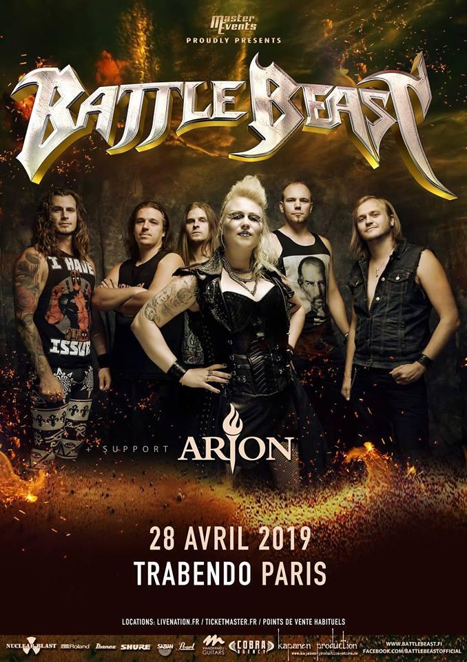 affiche-battle-beast-arion-paris-2019