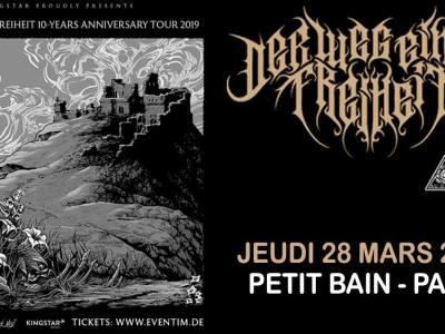 Der Weg Einer Freiheit au Petit Bain à Paris le 28/03/2019