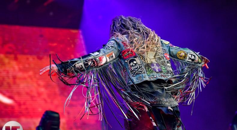Rob Zombie sur la scène du Knotfest 2019