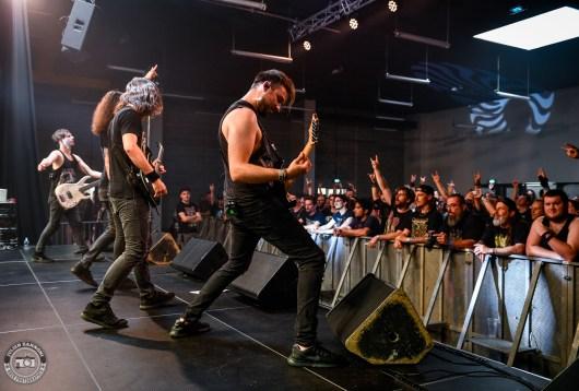 Voice of Ruin sur la scène du Lions Metal Festival 2019