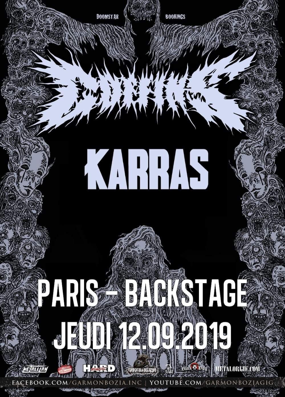 Concert de Coffins à Paris
