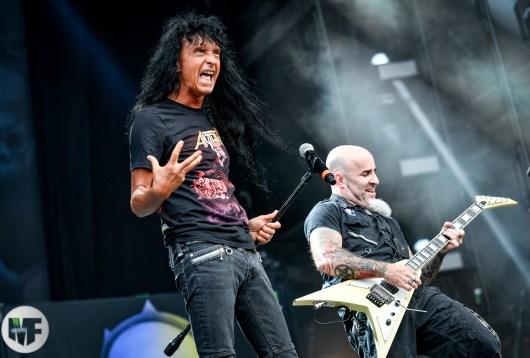 Anthrax au Wacken 2019