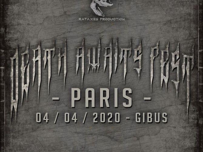 Death Awaits Festival au Gibus