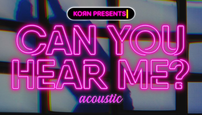 Korn - Can Your Hear Me (acoustic)