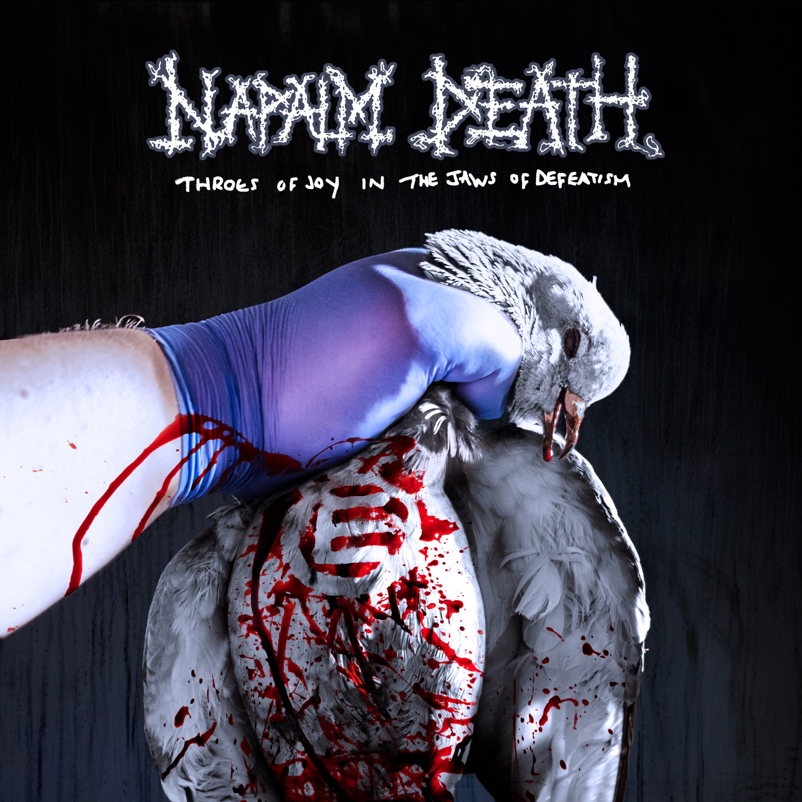 eath throes of joy in the jaws of defeatism du groupe napalm death