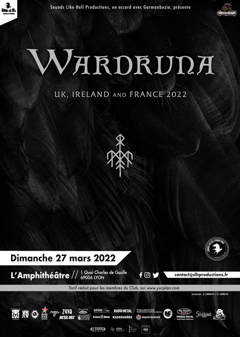Affiche de Wardruna en concert à Lyon