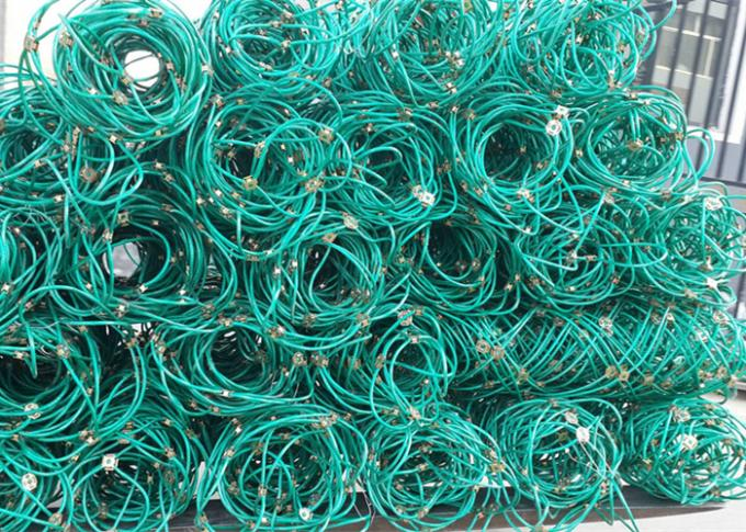 High Tensile Flexible Wire Rope Net For Slope Stabilization Protective Mesh