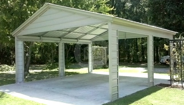 Roof Only Metal Buildings Metal Carport Covers Steel